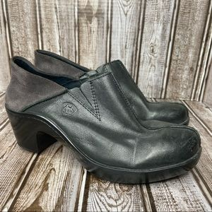 Ariat leather clogs - Kick Back -  size 6